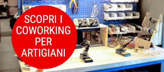 dove sono i coworking per artigiani